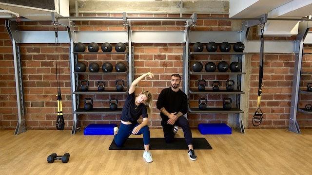 Full Body Strength with Vaggelis Troulis - September 29, 2020