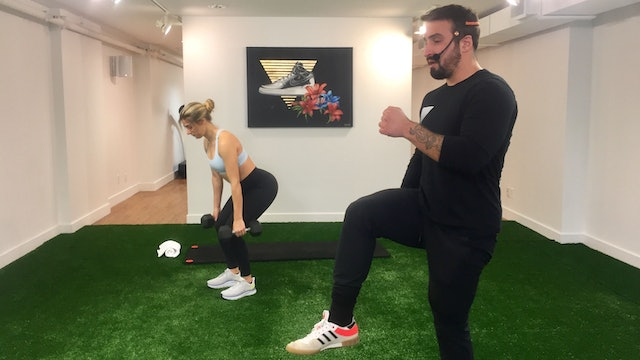 Lower Body & Core Strength with Vaggelis Troulis - 12/15