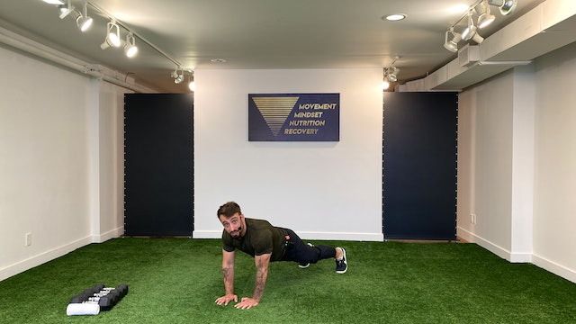 Full Body Strength with Vaggelis Troulis - 07/20