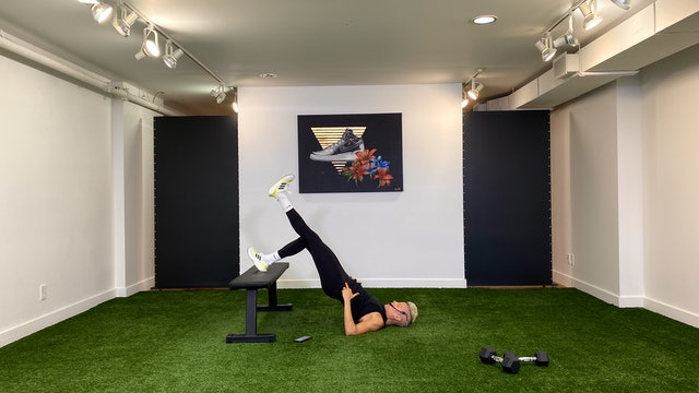 30min Lower Body & Core Strength Training w VAL