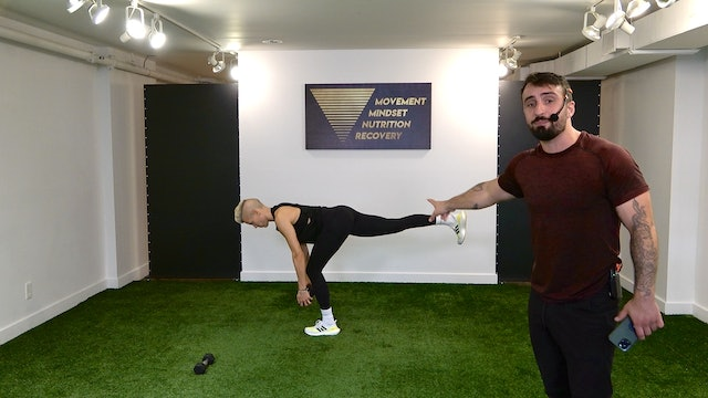 Full Body Strength with Vaggelis Troulis - 08/31
