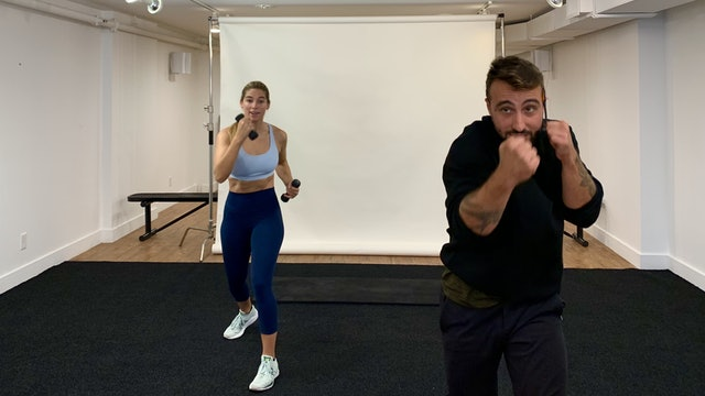 Boxing Workout with Vaggelis Troulis - 10/27
