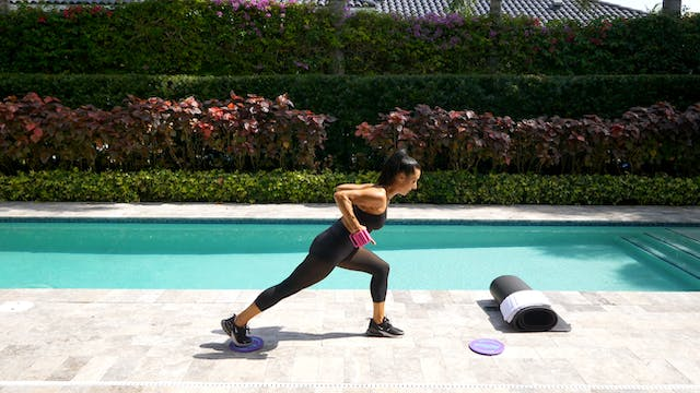 SCULPT NATION Gliders and Towel Chall...