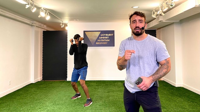 Boxing Workout with Vaggelis Troulis - 09/07