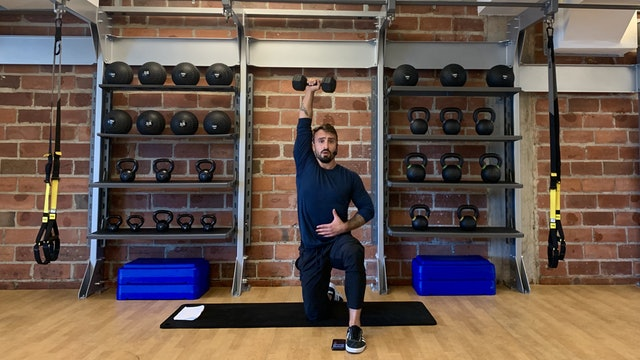 Full Body Strength with Vaggelis Troulis - August 25, 2020