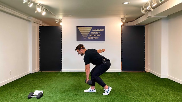 Lower Body & Core Strength with Vaggelis Troulis - 09/14
