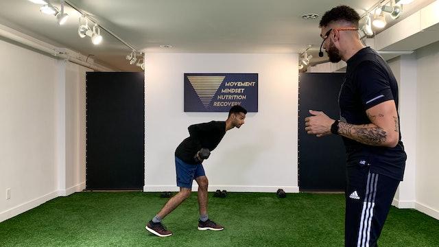 Full Body Strength w Cowan Austrie - 10/15
