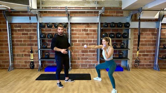 Full Body Strength with Vaggelis Troulis - September 22, 2020