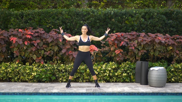SCULPT NATION Floor Barre and Cardio with Jen P - 12/30