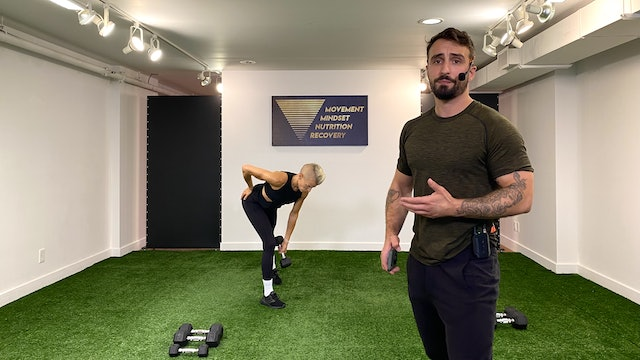 Full Body Strength with Vaggelis Troulis - 07/06