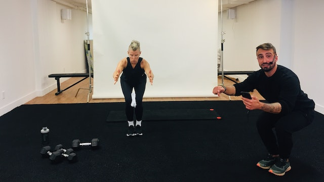 Full Body Strength with Vaggelis Troulis - October 6, 2020