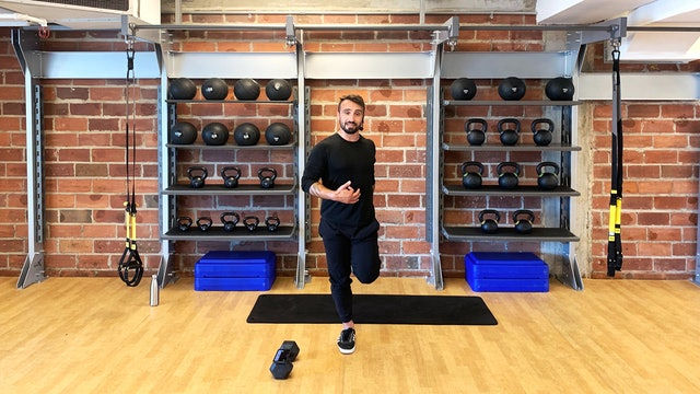 Full Body Strength with Vaggelis Troulis - August 11, 2020