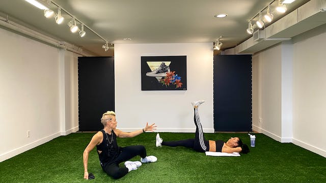 LATEST LIVE - 04/08 HIIT Cardios + Abs w VAL