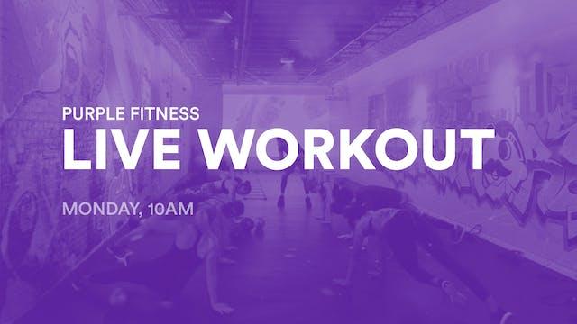 LIVE Workout, Monday