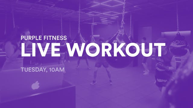 LIVE Workout, Tuesday