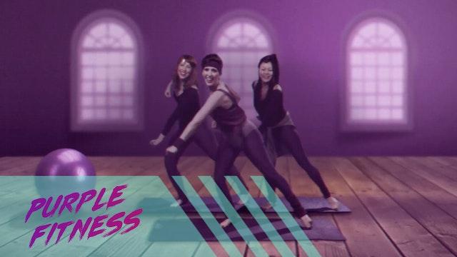 Purple Fitness Video