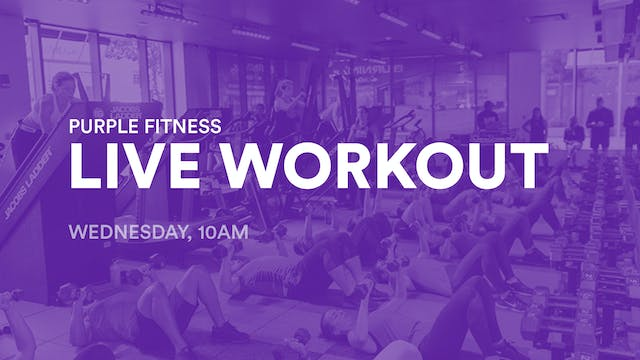 LIVE Workout, Wednesday