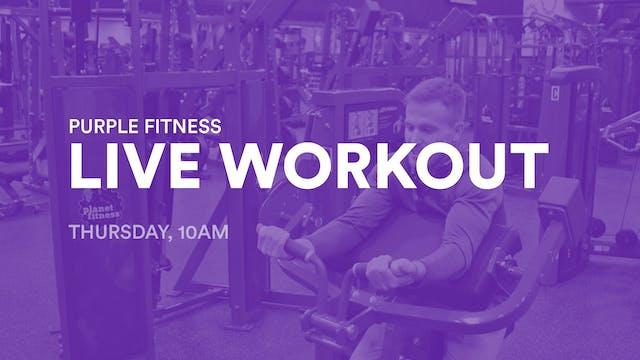 LIVE Workout, Thursday