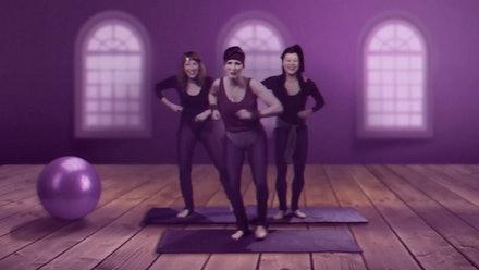 Purple Fitness Class Video