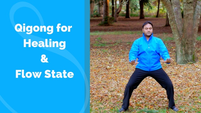 Qigong for Healing and Flow State (22 mins)