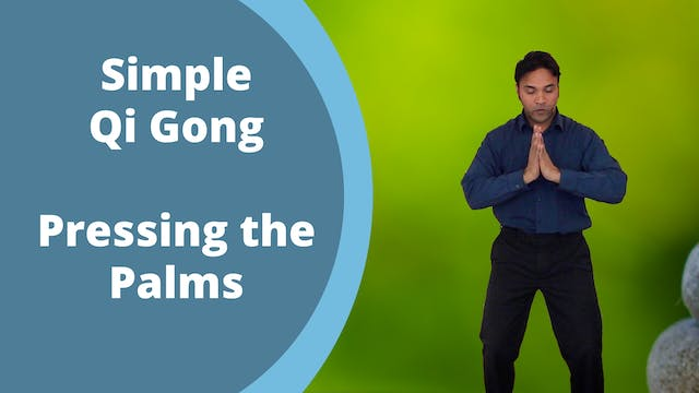 Pressing the Palms Exercise (7 mins)