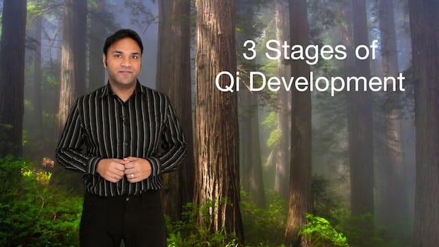 Three Stages of Qi Development (4 mins)