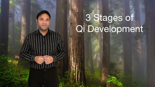 Three Stages of Qi Development (4 mins)