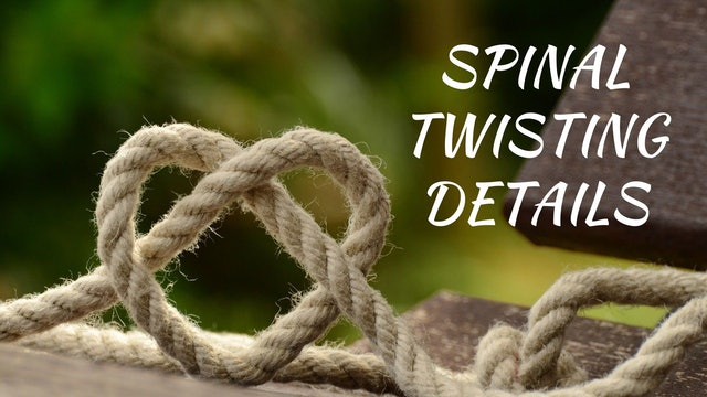 Spinal Twisting Details (6 mins)