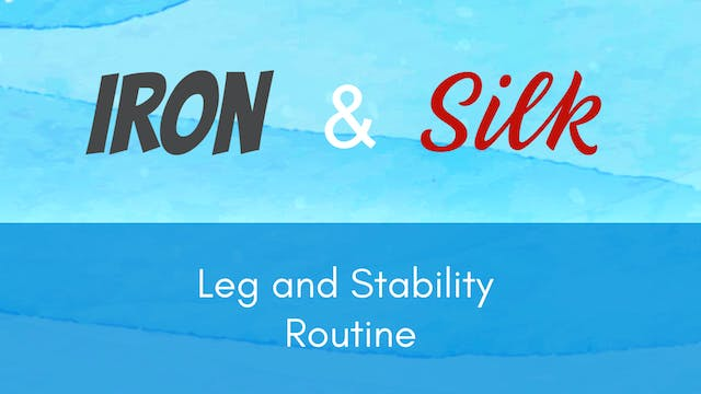Iron and Silk -  Leg & Stability Rout...