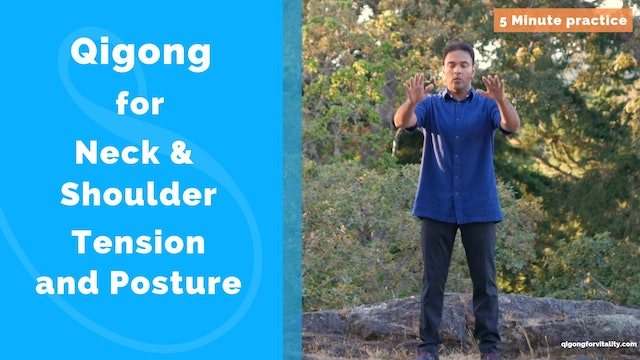 Qigong for Neck, Shoulders, Lung Circulation - Rowing the Boat (10 mins)