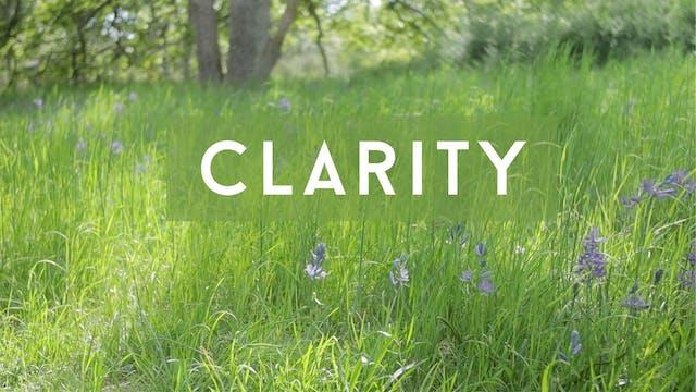 Clarity (28 mins)