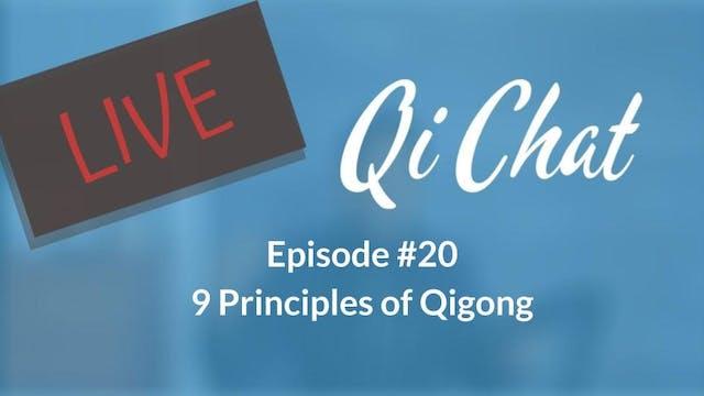 Nov Qi Chat - 9 Principles of Qigong ...
