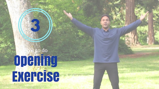 How to do 'Opening Exercise' (6 mins)