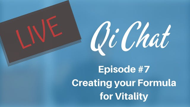Oct 2019 Qi Chat - Finding your Formu...