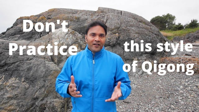 Don't practice this style of Qi Gong (3 mins)