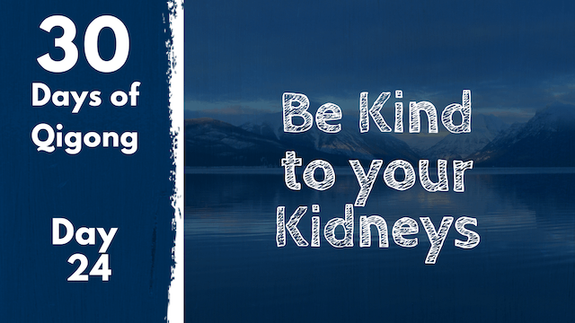 Day 24 Be Kind to your Kidneys (17 mins)