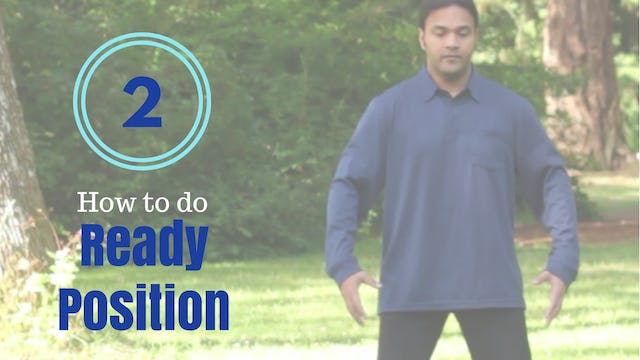 How to do 'Ready Position' (5 mins)