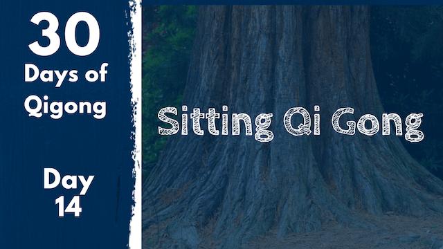 Day 14 Sitting Qi Gong (21 mins)