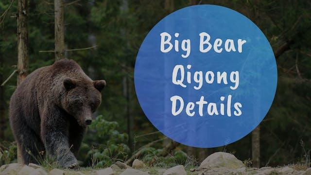 Big Bear Qigong Details (9 mins)
