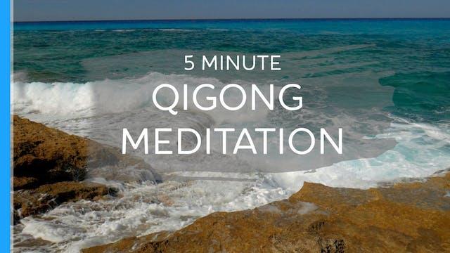 5 Minute Qigong Meditation (5 mins)
