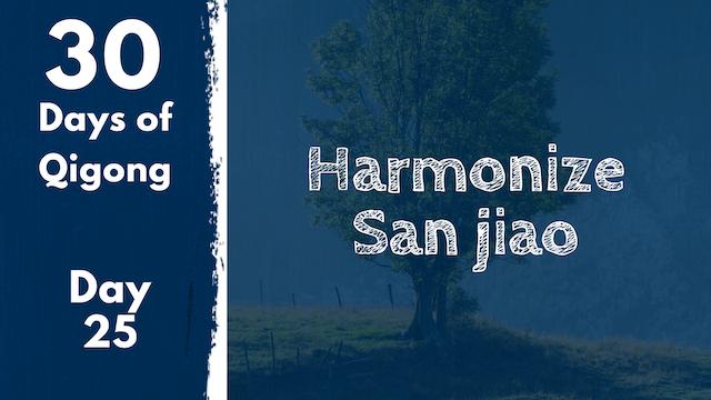 Day 25 Harmonize Sanjiao (25 mins)