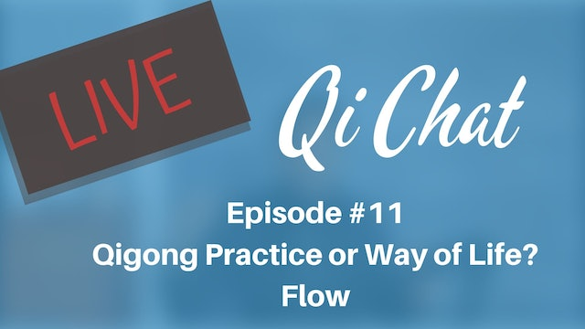 Feb 2020 Qi Chat - Qigong 'Practice' or 'Way of Life?' (75 mins)