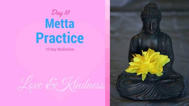 Day 10 Meditation - Metta (7 mins)