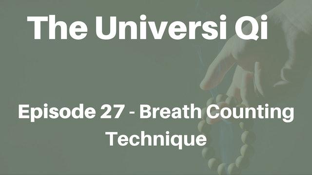 Universi Qi Episode 27 - Breath Counting Technique