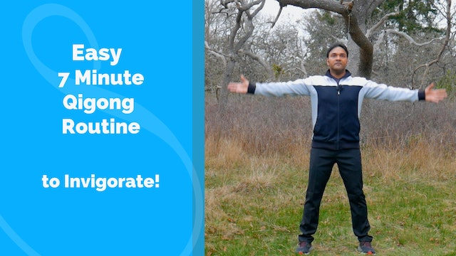 7 Minute Qigong Routine