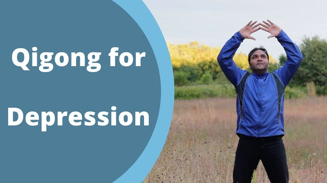 Qi Gong for Depression (5 mins)