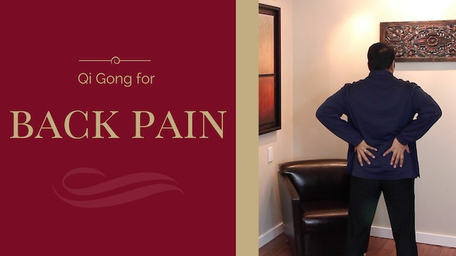 Qi Gong for Back Pain (10 mins)