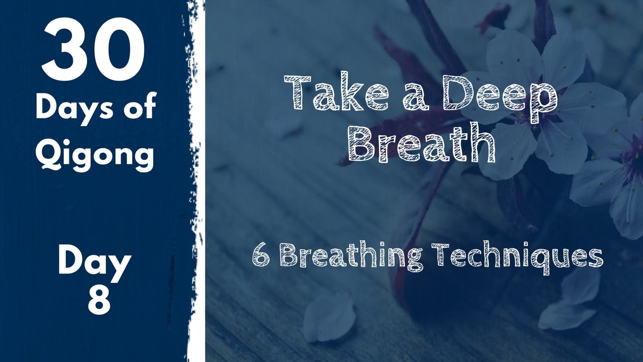 Day 8 Take a Deep Breath (18 mins) - 30 Days of Qi Gong - Qi