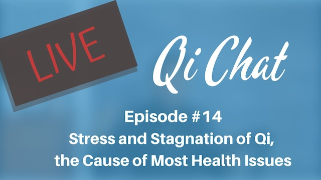 May 2020 Qi Chat - Stress and Stagnation of Qi (74 mins)