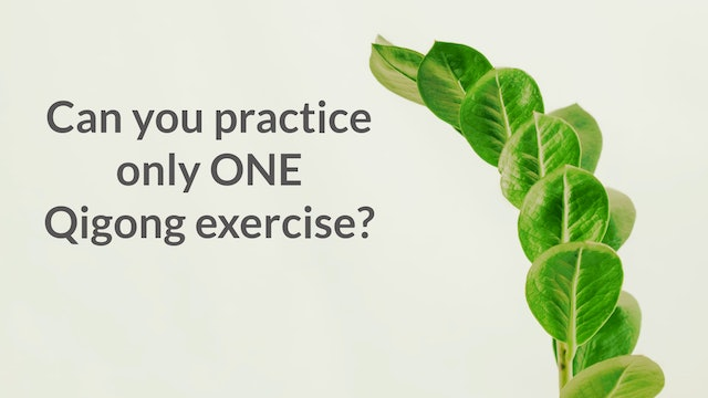 Can you practice only one exercise? (1 min)